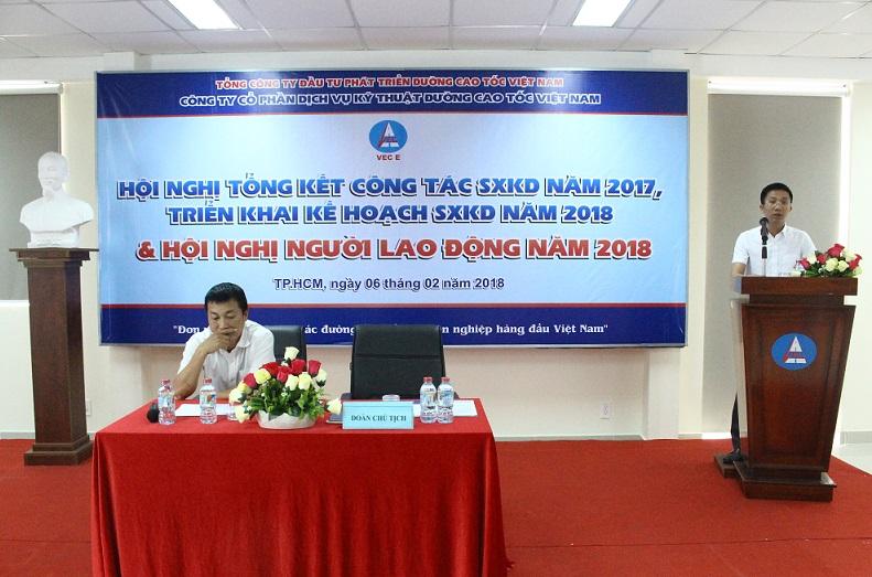 Hội nghị tổng kết công tác SXKD năm 2017, triển khai kế hoạch năm 2018 và Hội nghị người lao động năm 2018